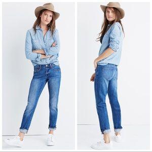 Madewell The Slim Boyjean jeans in Walton Wash sz